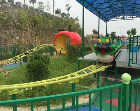 Fruit Worm Roller Coaster for Sale