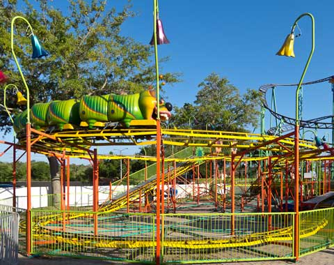 Wacky Worm Roller Coaster