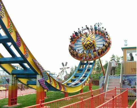 24-seat Theme Park Disco Ride for Sale