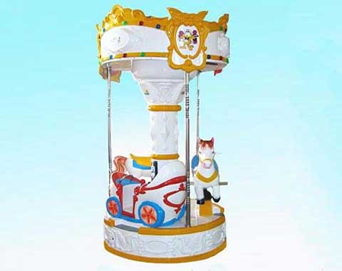 3 Horse Kiddie Carousel from Beston Rides