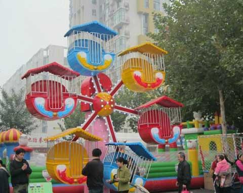 6-Cabin Mini Ferris Wheel
