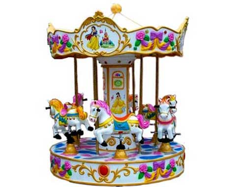 6-horse Mini Carousel for Sale