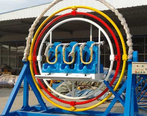 6-seat Gyroscope Ride for Sale