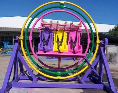 6-seat Human Gyroscope Ride for Sale