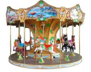 8-person Small Carousel in Beston