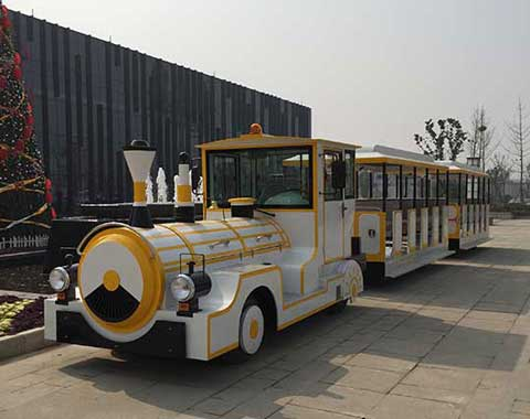 Amusement Trackless Train for Sale in Beston