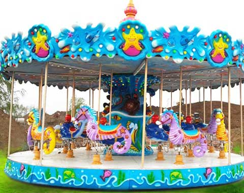 Ocean-themed Carousel Ride