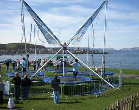 Bungee Jumping Trampoline for Sale