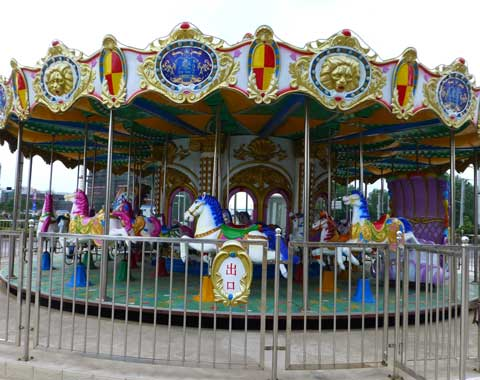 A Fairground Carousel Ride