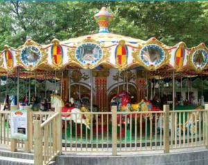 A kind of Luxury Carousel in Fairgroud