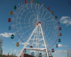 A Big Ferris Wheel in Beston
