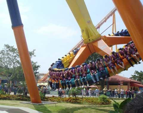 A Big Pendulum Swing Ride