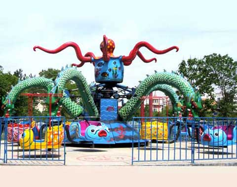 Hot-sale Octopus Carnival Ride for Sale