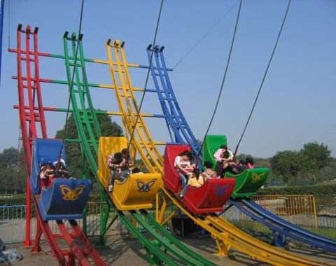 Meniscus Roller Coaster Car Ride in Beston