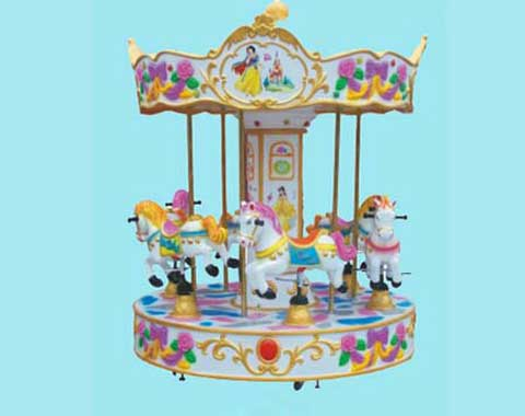 Mini Carousel with 6 Seats