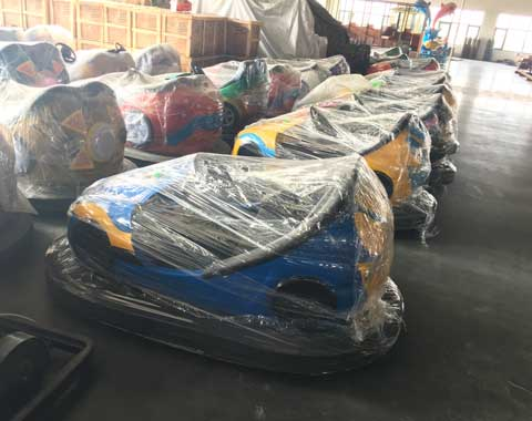 Packaged Beston Bumper Cars to South Africa