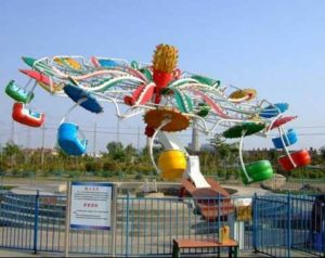 Paratrooper Carnival Ride in Beston