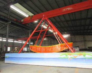 Beston Pirate Ship Ride to Australia Customer