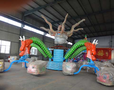 Rotary Octopus Ride for Sale in Beston