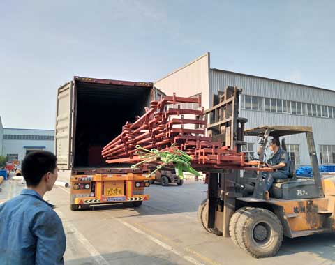 Beston Amusement Ride Shipped to South Africa