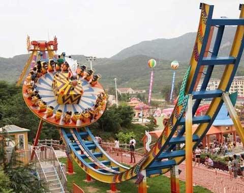 Theme Park Disco Ride in Beston
