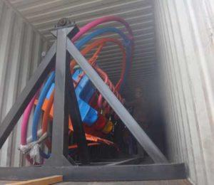 Beston Human Gyroscope Rides Shipped to Pakistan