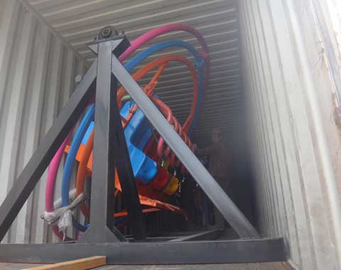 Beston Human Gyroscope Rides Shipped to Pakistan