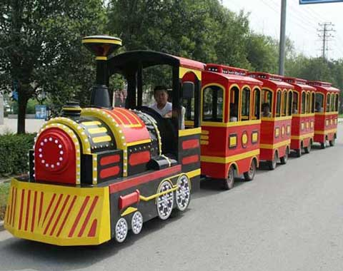 Popular Trackless Train