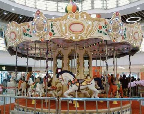 Vintage Kiddie Carousel Ride for Sale