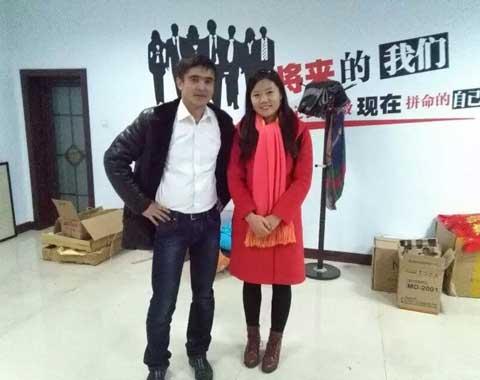 Visit from Kazakhstan Customer