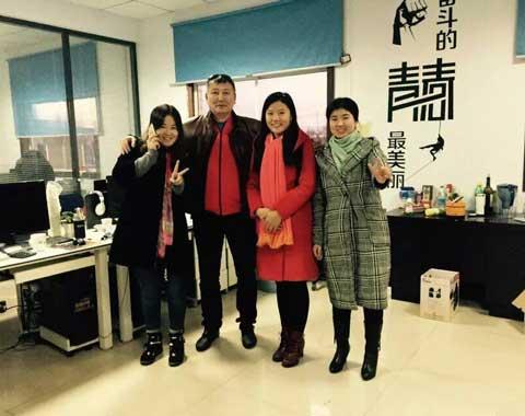 Beston Welcomes to Customers from Kazakhstan