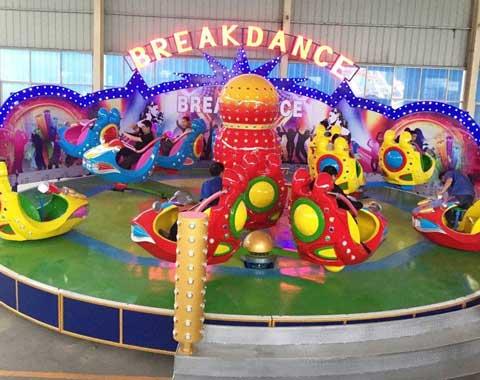 Fairground Breakdance Ride in Beston