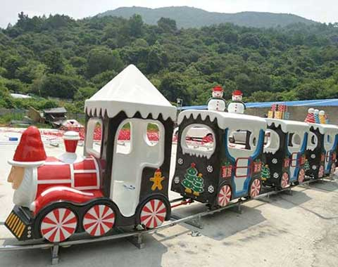 Christmas Amusement Park Track Train for Sale in Beston