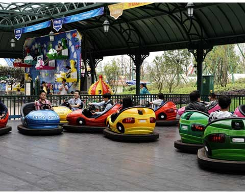 Electric Bumper Cars Arena