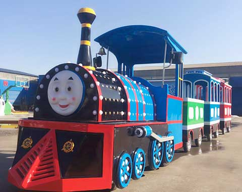 Thomas Trackless Amusement Park Train for Sale in Beston