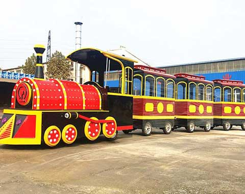 Vintage Amusement Park Train for Sale in Beston