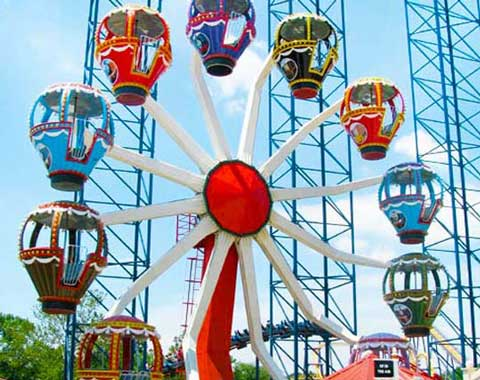12-cabin Small Ferris Wheel for Sale from Beston