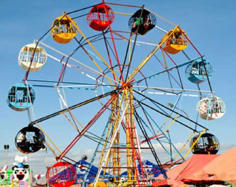 15-cabin Small Ferris Wheel for Children from Beston