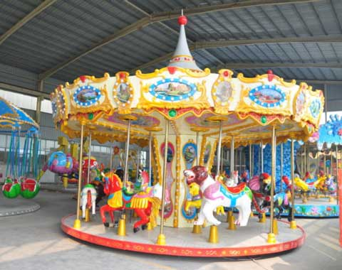 16-seat Carousel Ride for Sale from Beston