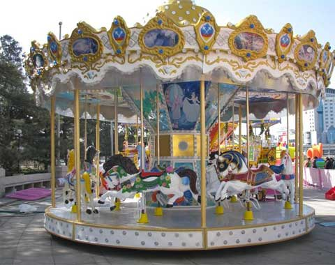 Beston 16-seat Fairground Carousel for Sale