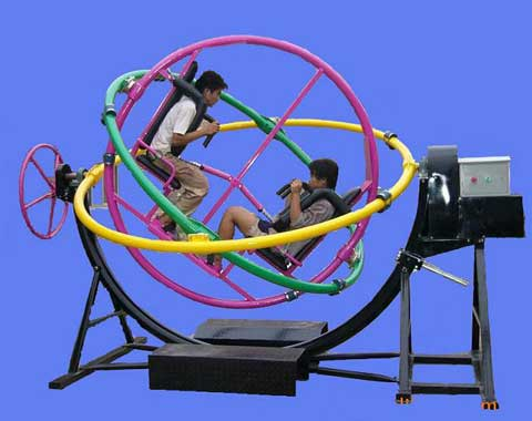 2-seat Amusement Gyro Ride for Sale
