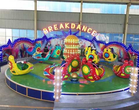 24-seat Breakdance Ride for Sale from Beston