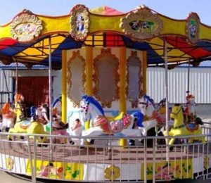 24-seat Fairground Carousel Ride for Sale in Beston