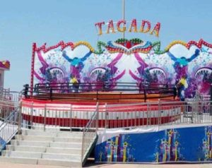 40-seat Tagada Ride for Sale Manufactured by Beston