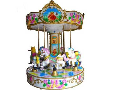 6-seat Kiddie Carousel for Sale in Beston