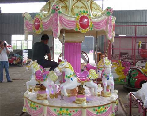 6-seat Small Carousel Ride for Sale from Beston