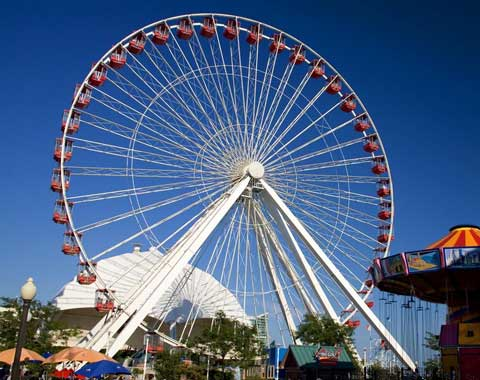 65-meter Amusement Ferris Wheel for Sale from Beston