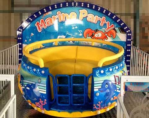 8-seat Kiddie Disco Tagada Ride for Sale