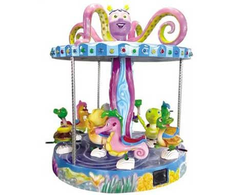 9-seat Kiddie Carousel Ride for Sale from Beston