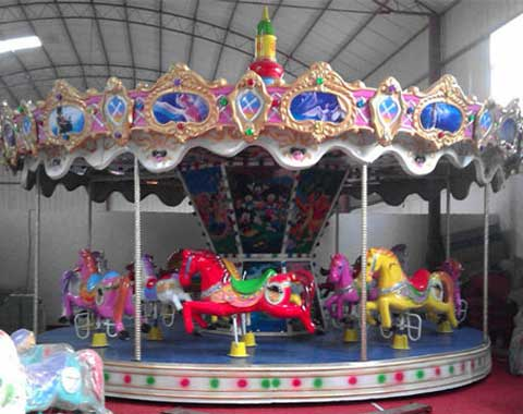 Amusement Park Carousel Ride for Sale from Beston